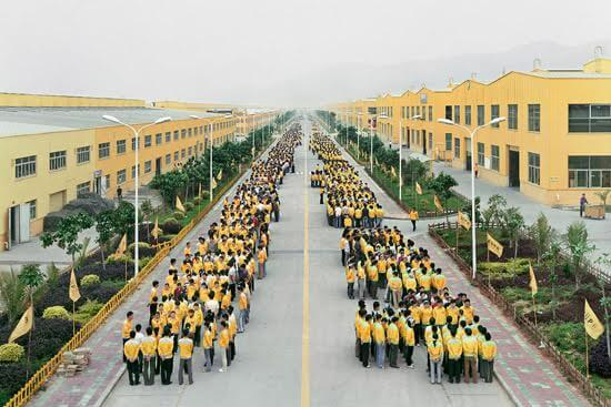VISUAL ANALYSIS:   Masses of Labourers: A View on Edward Burtynsky