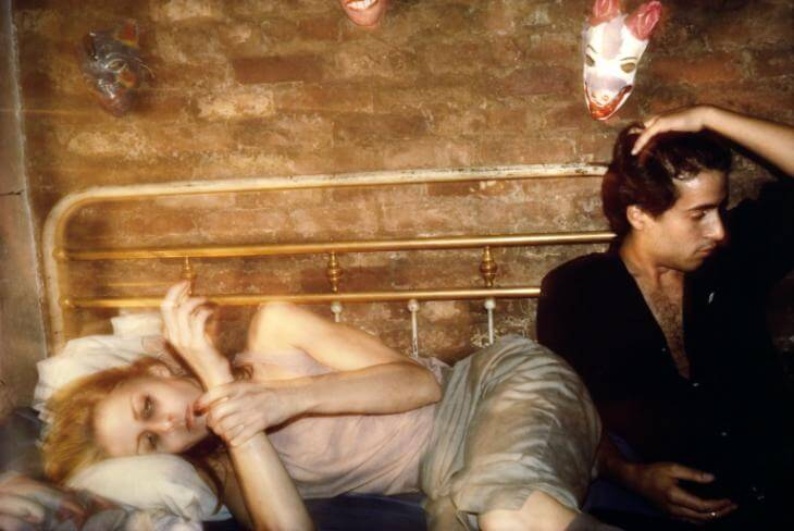 Greer And Robert On The Bed, NYC 1982 By Nan Goldin Born 1953