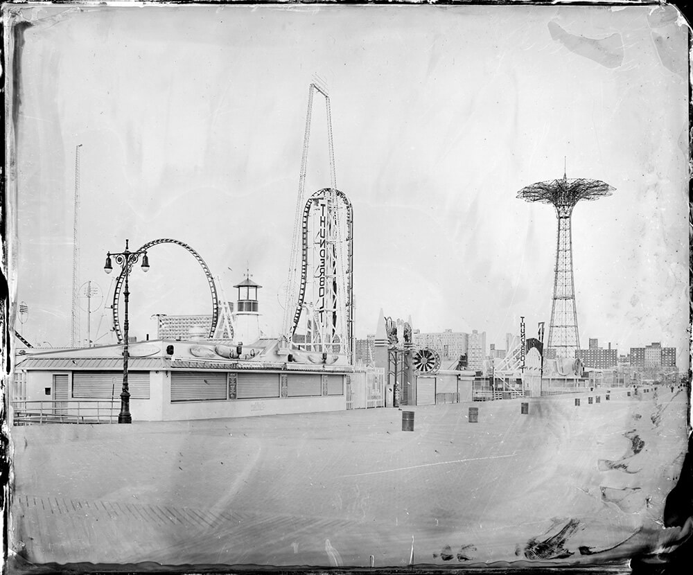 Rob Ball, Cyclone Coney Island, from the series Dreamlands